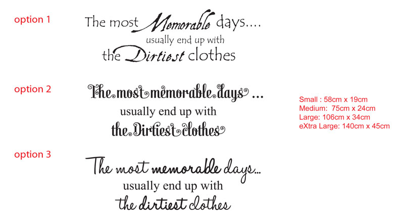 The most memorable days... usually end up with the dirtiest clothes
