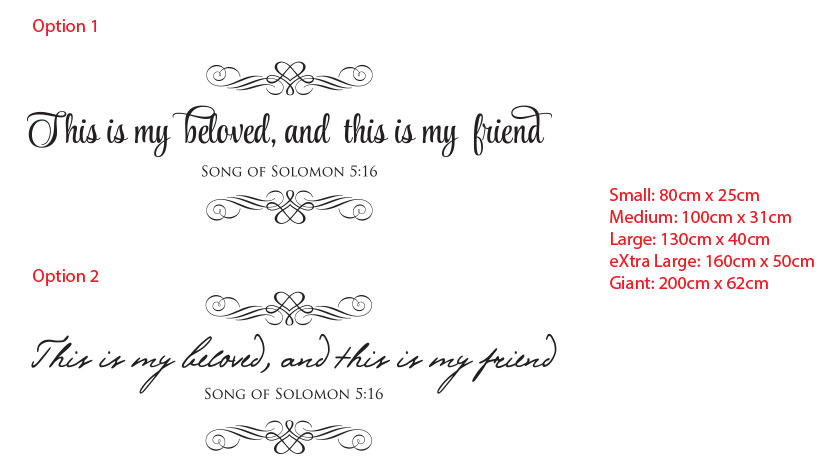 Bible Verse This is my beloved, and this is my friend, Song of Solomon