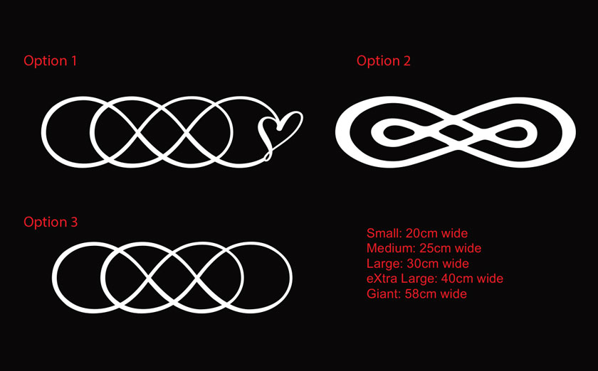 Infinity Love Quotes Fair Double Infinity Symbol Infinity Times Infinity Love Forever Car