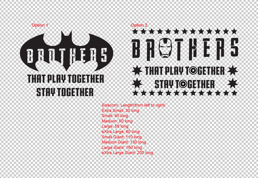 Brothers that Play Together Stay Together Brother Wall Decal Sticker Kids Room